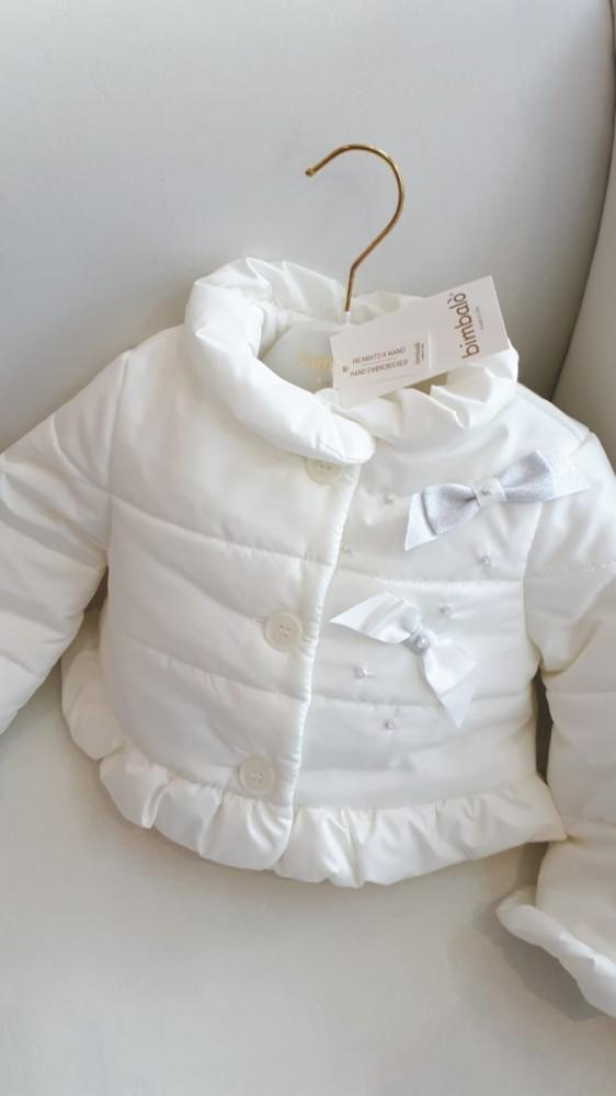 5cb4f99f6 Bimbalo Cream Short Padded Coat