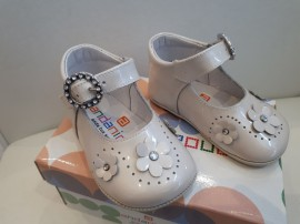 Andainnes Soft Flower Design Pram Shoes