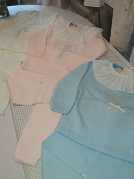 Ballerina knitted girls loungewear
