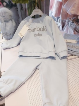 Bimbalo boys 2 piece logo top & trousers