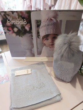 Bimbalo diamante logo hat & scarf set