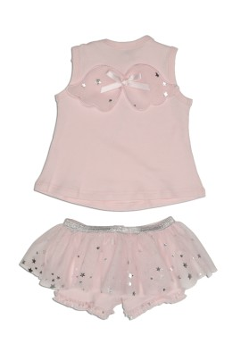Kate Mack Fairy  Pink Top and Skirted Shorts