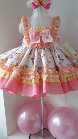 La Amapola Easter older girls dress