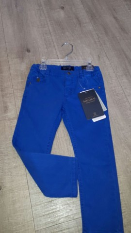 Mayoral Boys Blue Dress Trousers