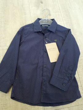 Mayoral Boys Navy Shirt