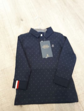 Mayoral Navy Collared Poloshirt