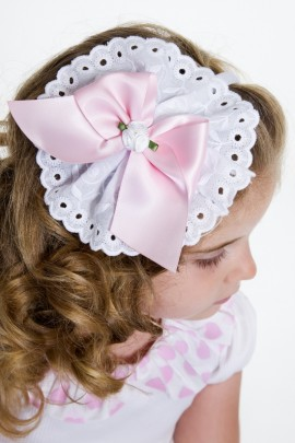 Petit Bebe Pretty in Pink Hairband