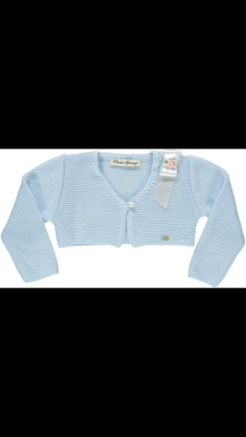 Piccola speranza blue cardigan