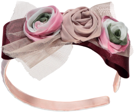 Piccola Speranza Rose Corsage hairband
