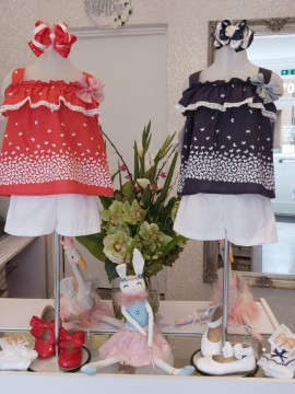 Pretty Originals butterfly shorts sets